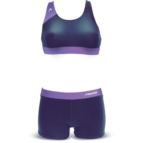 Head Splice Plus bikini Dames violet/blauw